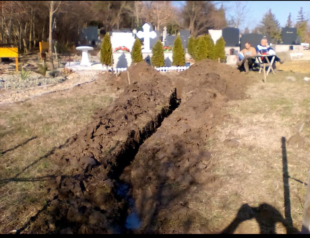 Iskopavanje grobnih mesta